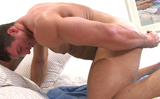 Hunks Play With Dildo Fuck